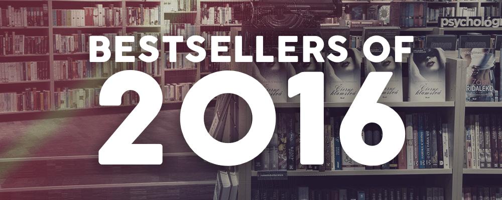 Bestsellers of 2016