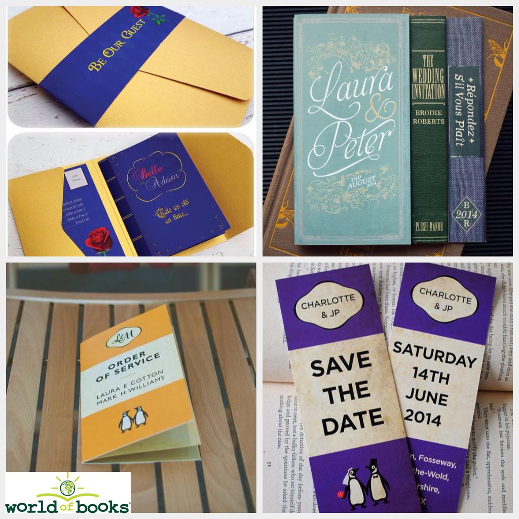 Beautiful Bookishly Themed Weddings World Of Books Book Blog