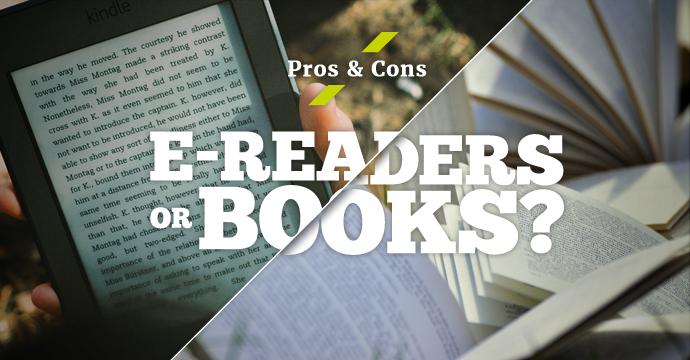 Pros and Cons | E-Reader Vs Books
