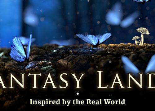 fantasy lands in fiction