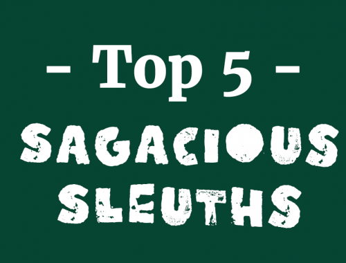 top five sleuths blog