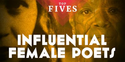 top five influential poets