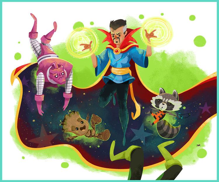 Night Night Groot Illustrations: Cale Atkinson