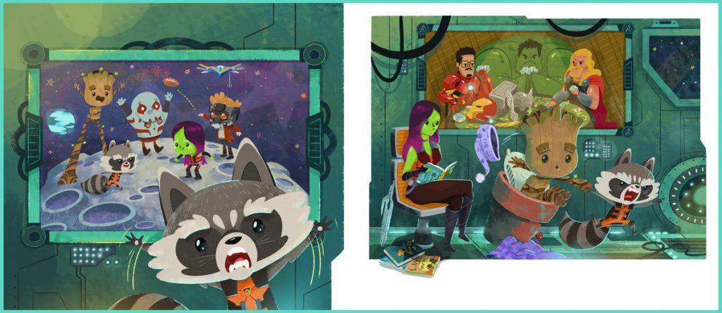 Illustrations: Cale Atkinson, Night Night Groot