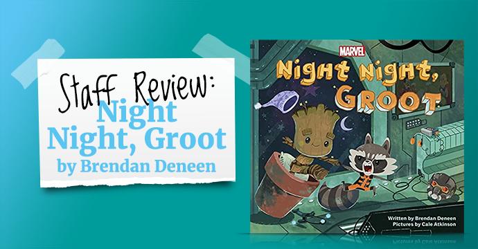 night night groot book review