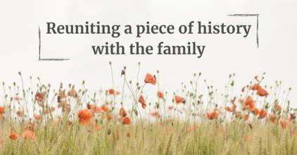 reuniting a piece of history