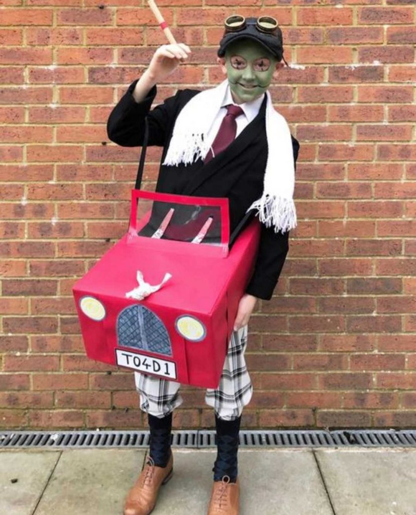 mr toad world book day
