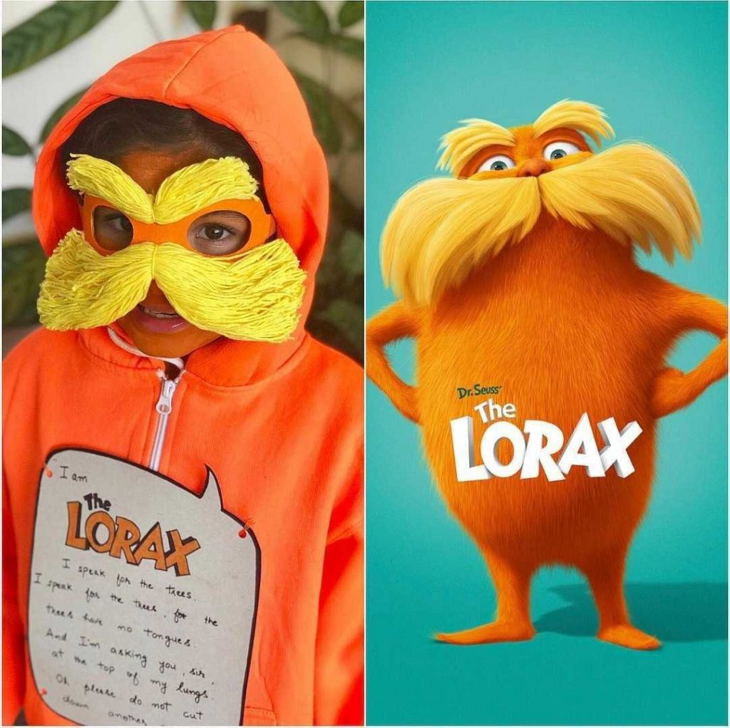 the lorax costume world book day