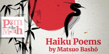 haiku poems matsuo basho