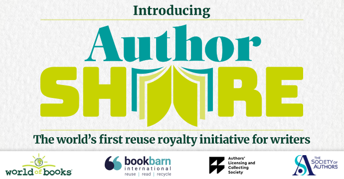authorshare reuse royalty initiative world of books